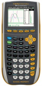 เครื่องคิดเลข TI 84Plus