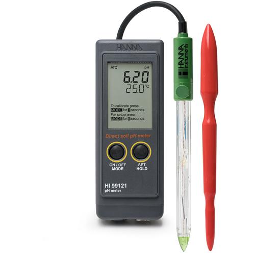 เครื่องวัดดิน (Soil pH Meter) รุ่น HI99121