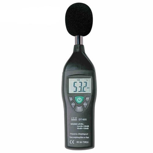 เครื่องมือวัดเสียง (Sound  Meter) จาก CEM รุ่น DT-805