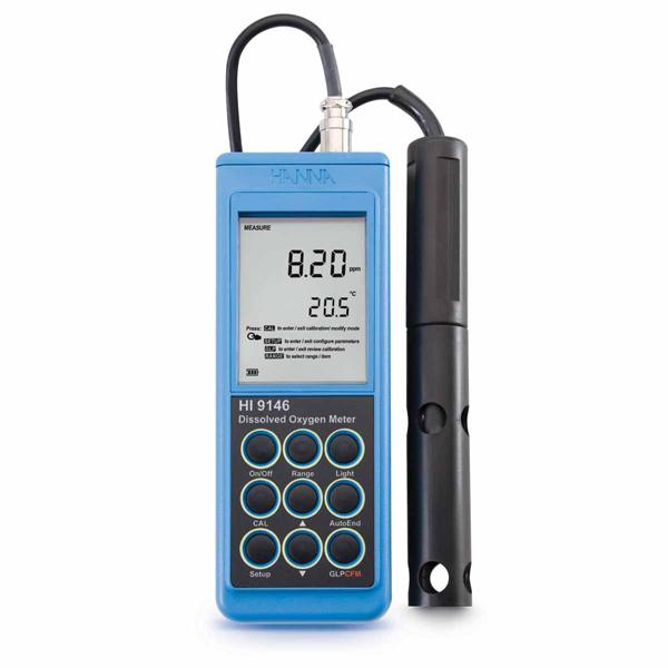 DO Meter วัดปริมาณออกซิเจนในน้ำรุ่น HI9146