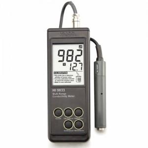 EC Meter เเบบพกพารุ่น HI9033