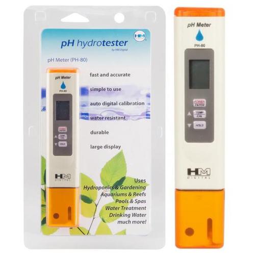 pH Meter เครื่องวัดค่าความเป็นกรด ด่างรุ่น PH-80