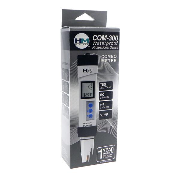 เครื่องวัด pH EC TDS Meter รุ่น COM-300 แบรนด์