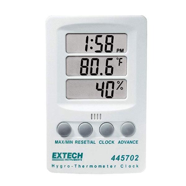 เครื่องวัดอุณหภูมิและความชื้นแบบดิจิตอล-Extech-445702
